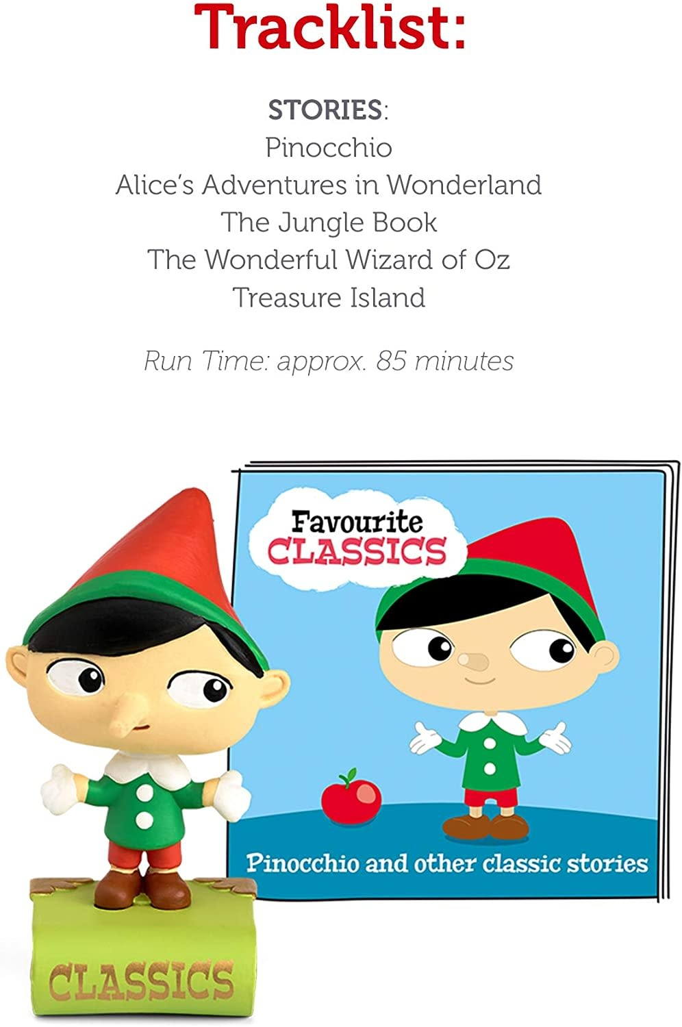 Tonie - Pinocchio & Other Classic Stories