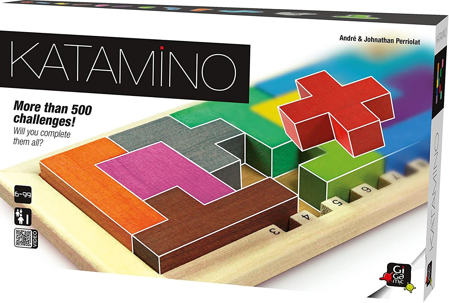 Katamino Puzzle Game by Gigamic