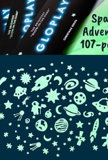 GloPlay Space Adventure 107-pc Pack by GloPlay