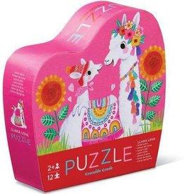 Llama Love 12-pc Puzzle by Crocodile Creek