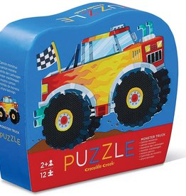 Monster Truck 12-pc Puzzle by Crocodile Creek
