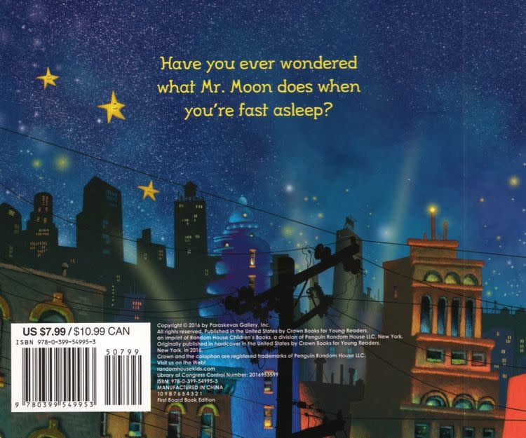 Mr. Moon Board Book