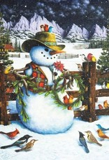 Western Snowman 1000-pc Puzzle by Springbok
