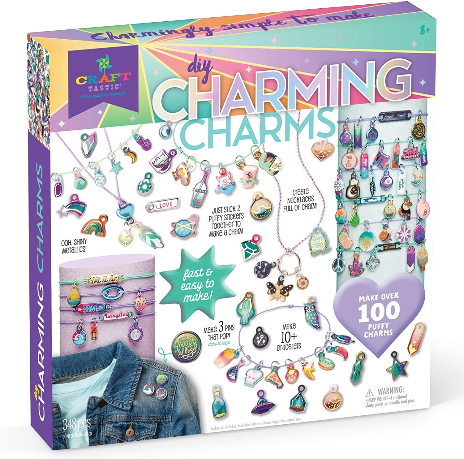 Charming Charms DIY Kit by Craft-tastic