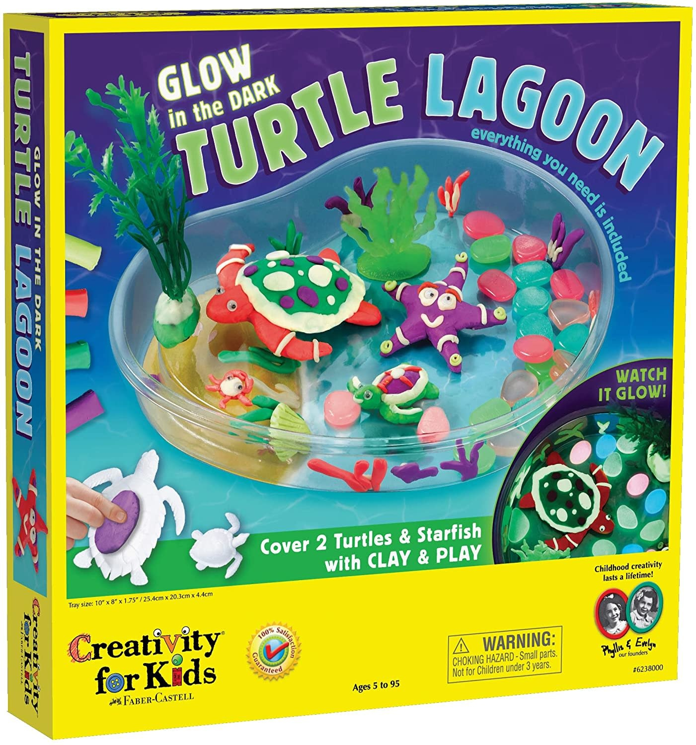 Glow in the Dark Turtle Lagoon by Creativity for Kids