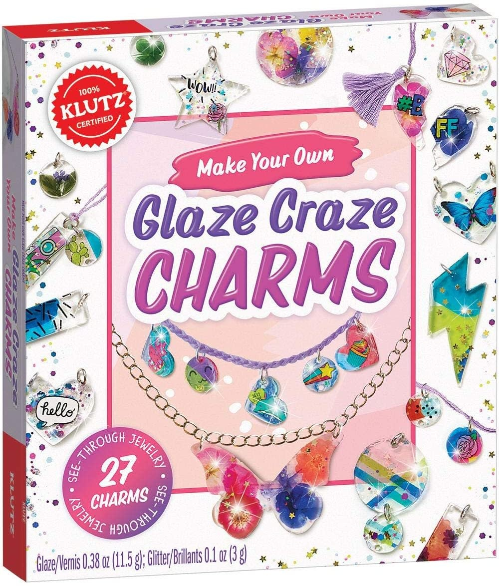 Make Your Own Glaze Craze Charms by Klutz