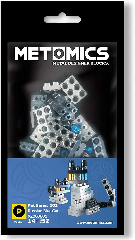 Pocket Pet Series - Russian Blue Cat by Metomics