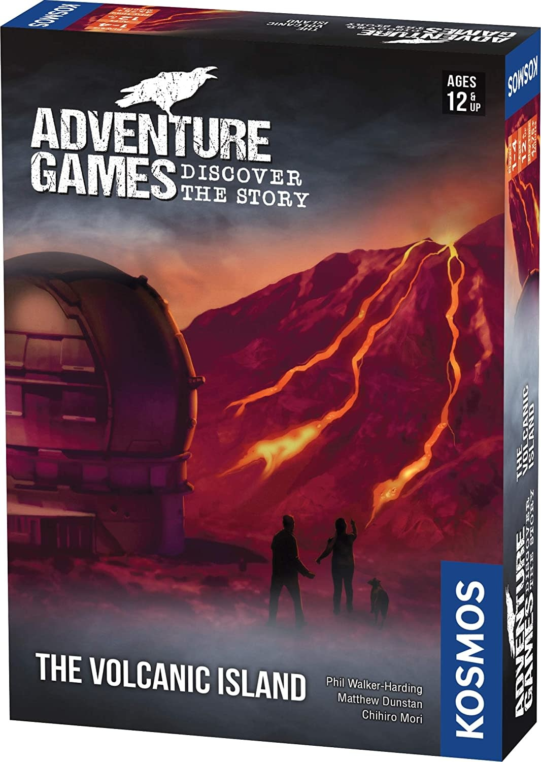 Adventure Game: The Volcanic Island by Thames *& Kosmos