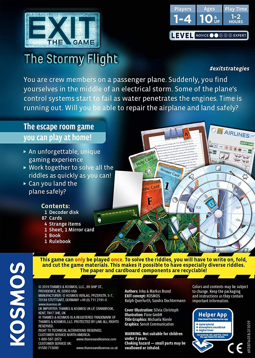 EXIT: The Stormy Flight by Kosmos