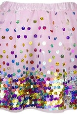 Party Fun Sequin Skirt (4-7) by Great Pretenders