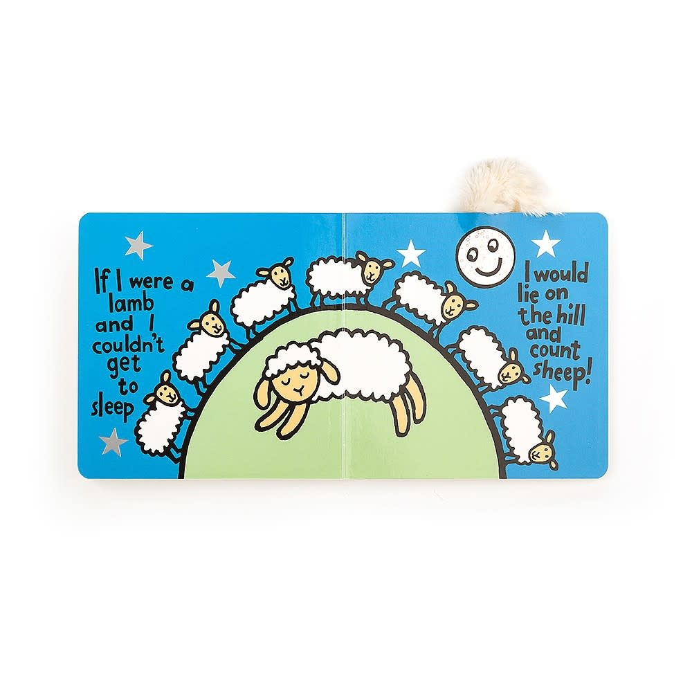 If I Were a Lamb Board Book by Jellycat