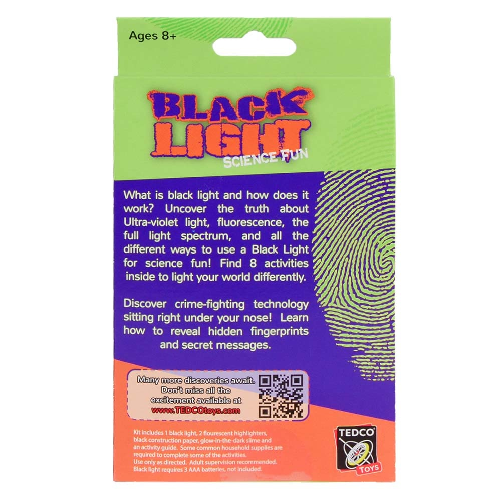 TEDCO Toys Black Light Science Fun by TEDCO