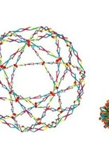 Hoberman Sphere - Rainbow by John Hansen