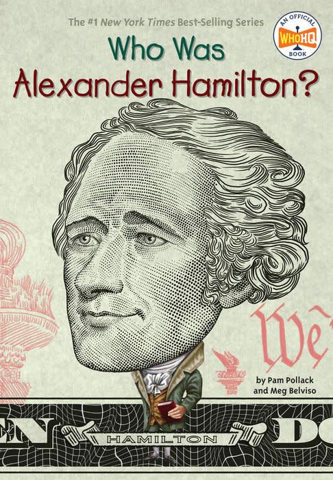 Who Was Alexander Hamilton? Paperback Book