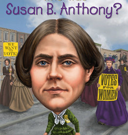 Who Was Susan B Anthony? Paperback Book