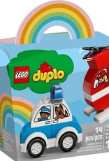 10957 Fire Helicopter & Police Car by LEGO Duplo