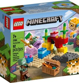 21164 The Coral Reef LEGO Minecraft
