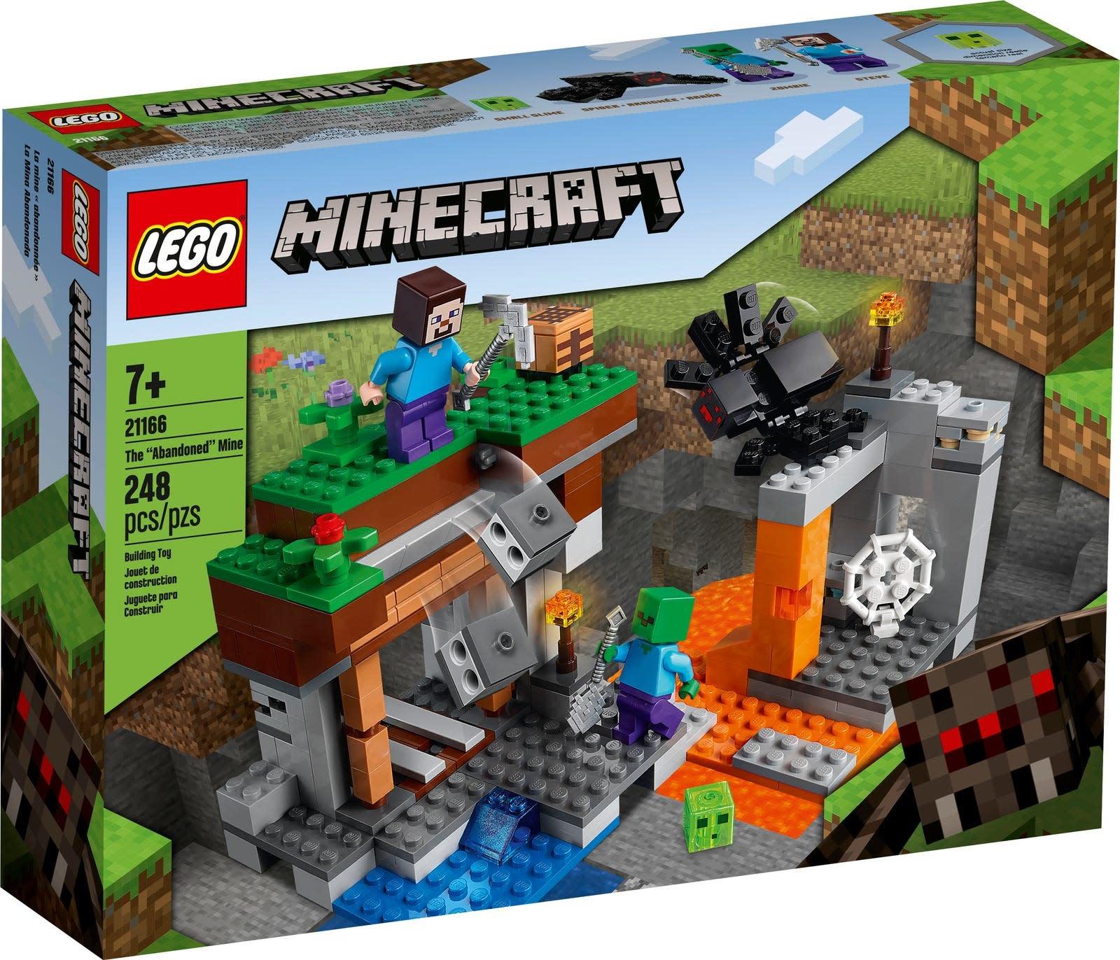 """21166 The """"Abandoned"""" Mine LEGO Minecraft"""