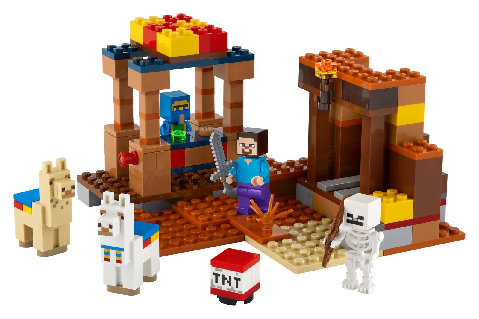 21167 The Trading Post LEGO Minecraft