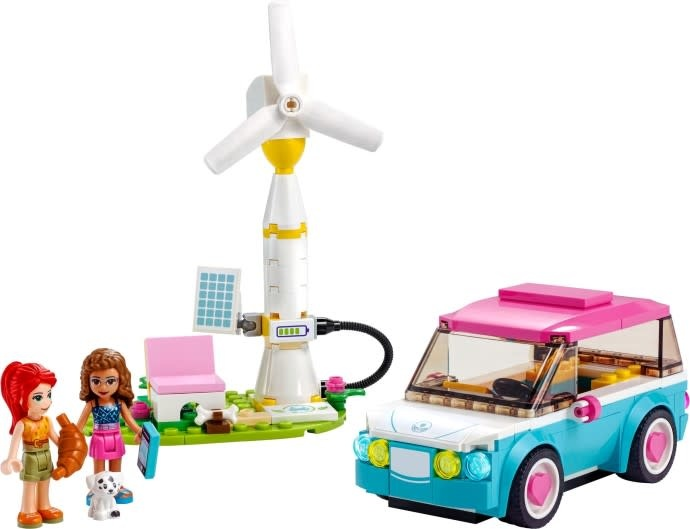 41443 Olivia's Electric Car LEGO Friends