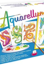 Aquarellum Junior Dragons Set by Sentosphere