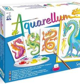 Aquarellum Junior Dragons Set by Sentosphere