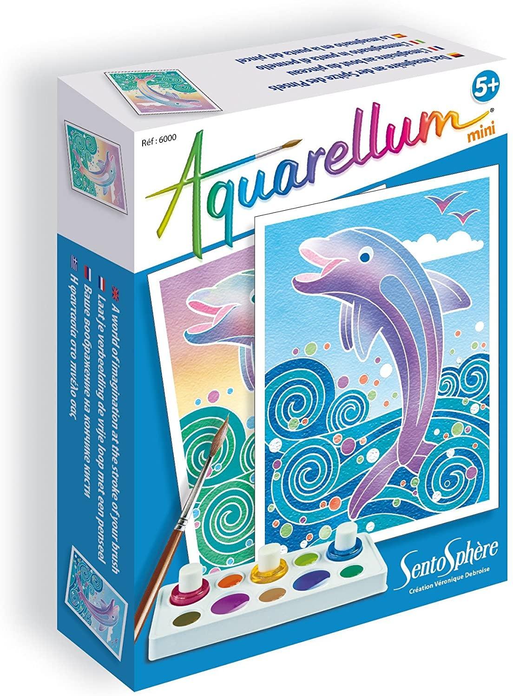 Aquarellum Mini Dolphins by Sentosphere