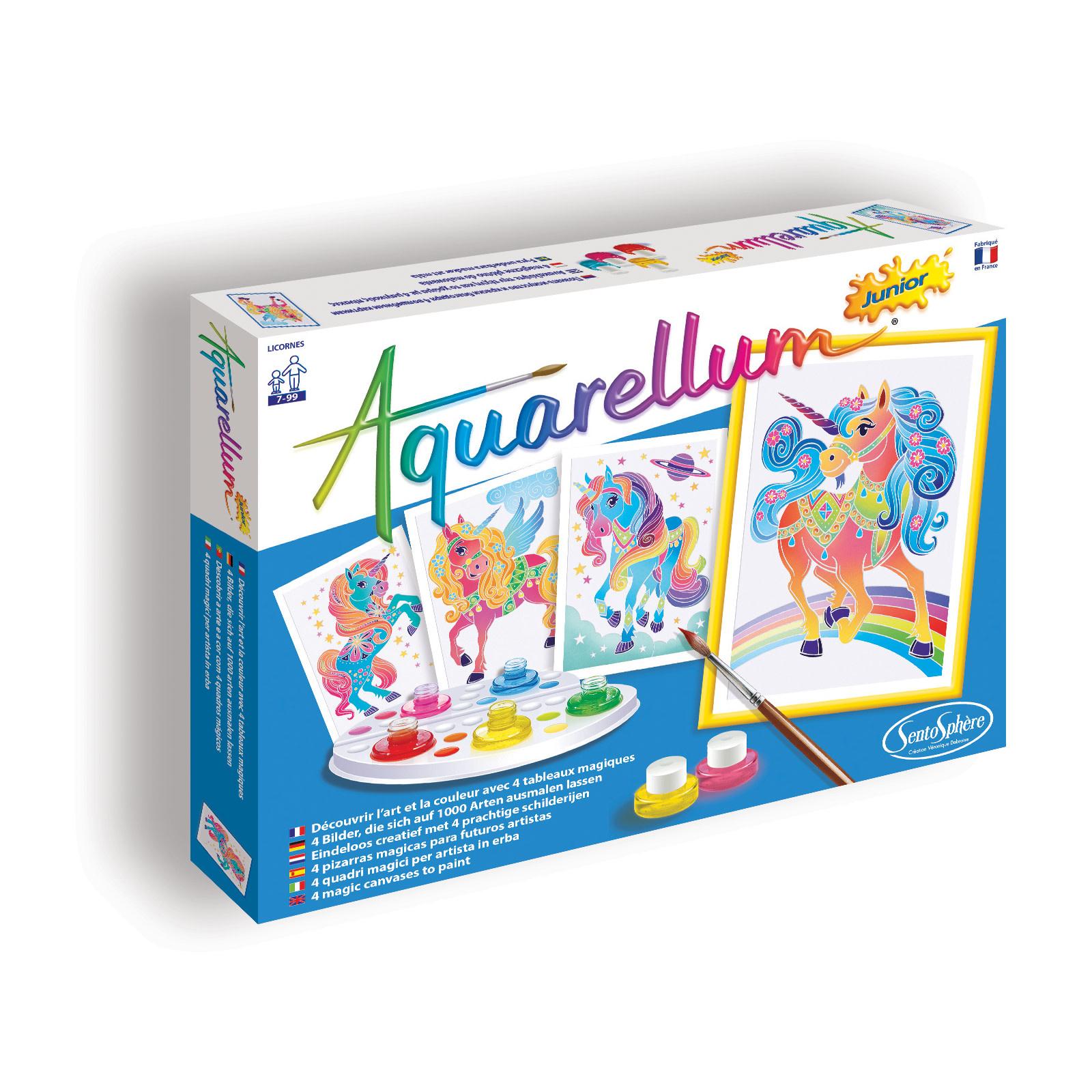 Aquarellum Junior Unicorns by Sentosphere