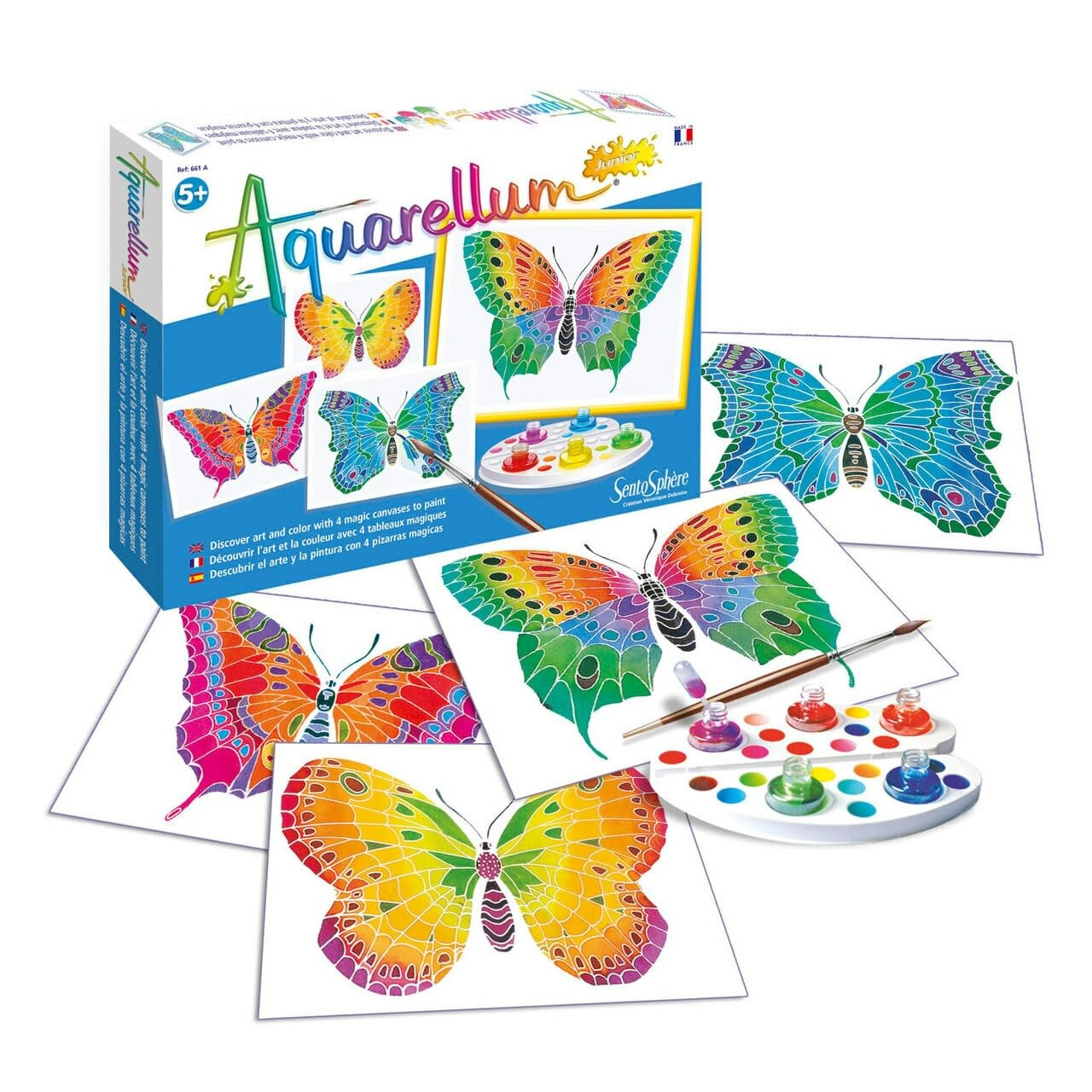 Aquarellum Junior Butterflies by Sentosphere