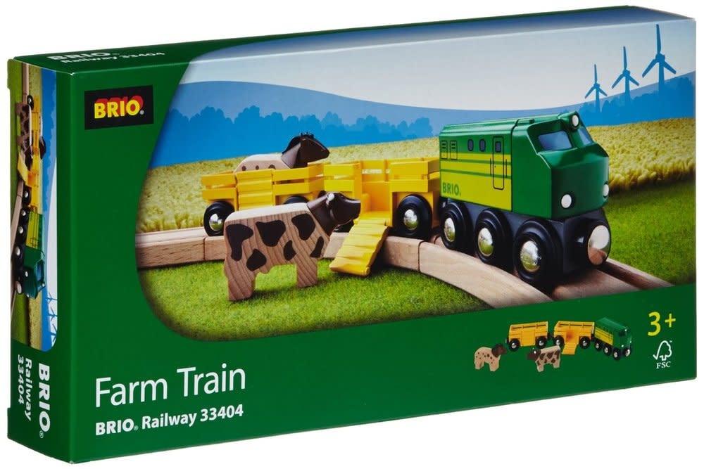 Farm Train 5-pc Set by BRIO