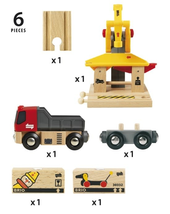 Freight Goods Station by BRIO