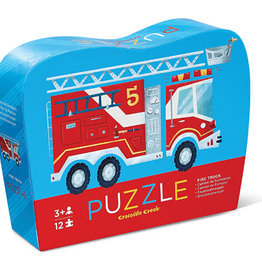 Firetruck 12-pc Fire Truck Puzzle by Crocodile Creek