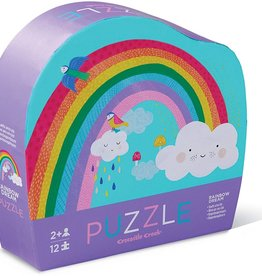 Rainbow 12-Pc Puzzle by Crocodile Creek