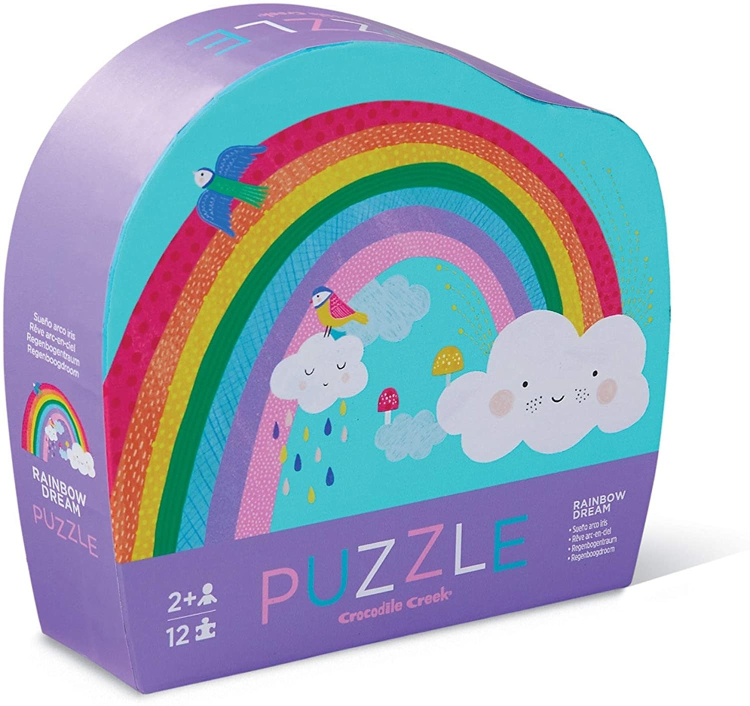 Rainbow 12-Pc Puzzle by Crocodile Creek