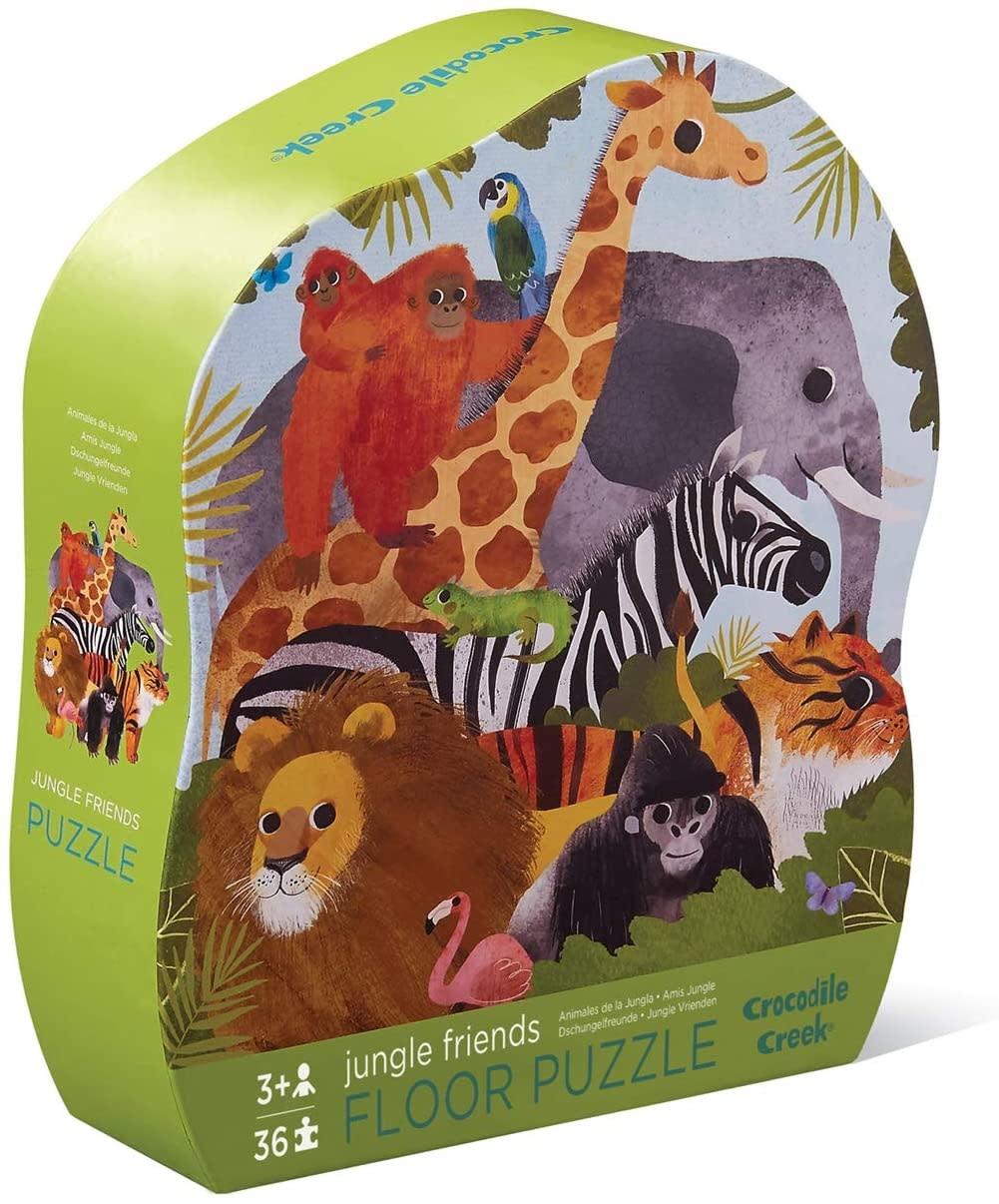 Jungle Friends 36-pc Puzzle by Crocodile Creek