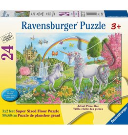 Prancing Unicorns 24-pc Puzzle by Ravensburger