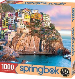Cliff Hangers 1000-pc Puzzle by Springbok