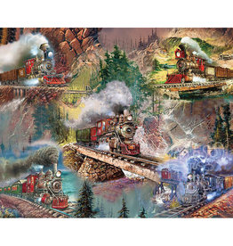 Thrilling Trains 1000-pc Puzzle by Springbok