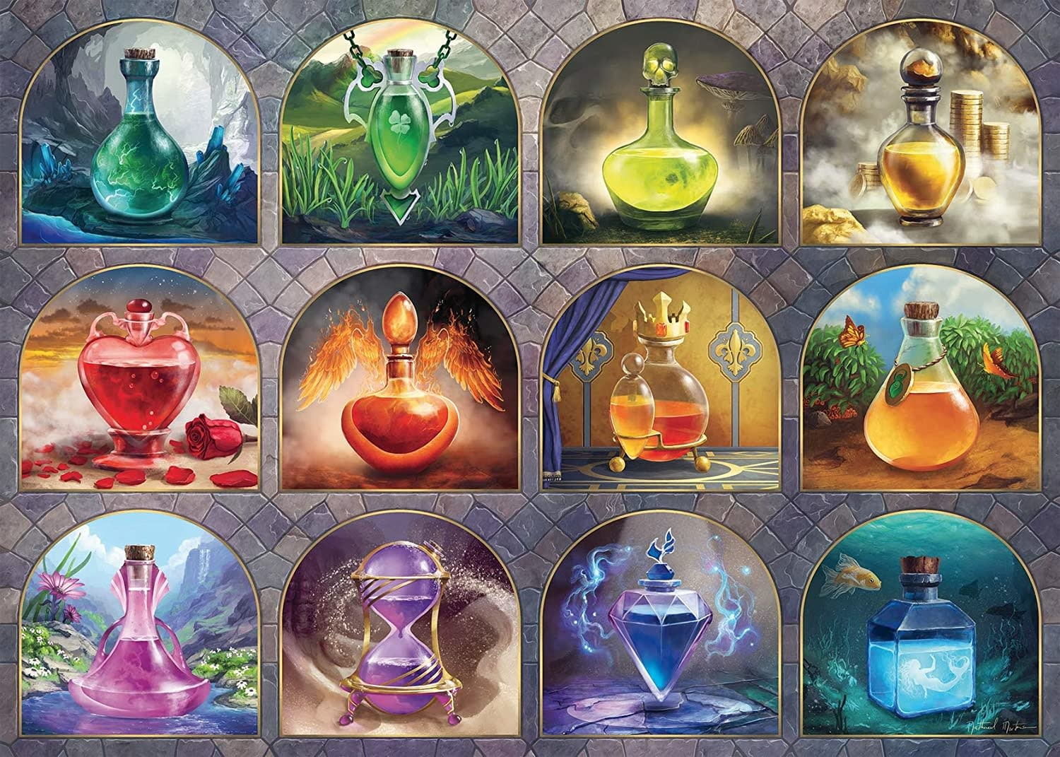 Magical Potions 1000-pc Puzzle by Ravensburger