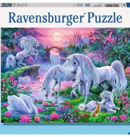 Unicorns in the Sunset Glow 150-pc Puzzle by Ravensburger