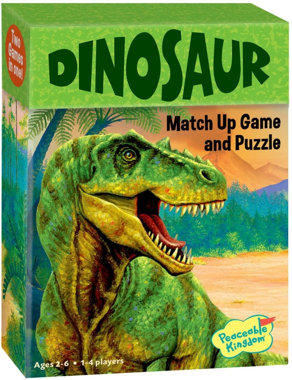 Dinosaur Match Up by Peaceable Kingdom