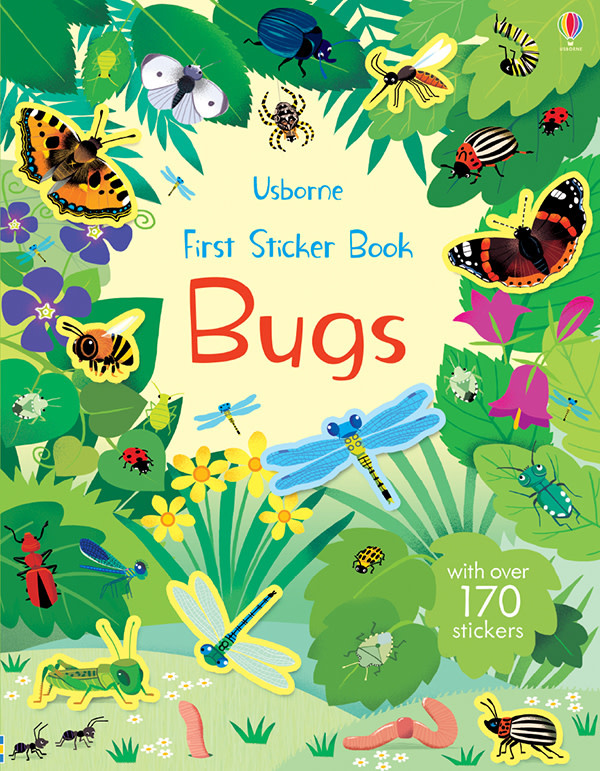 First Sticker Book - Bugs by Usborne
