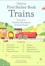 First Sticker Book - Trains