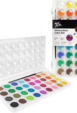 Watercolor Cake Set 38-pc by MontMarte