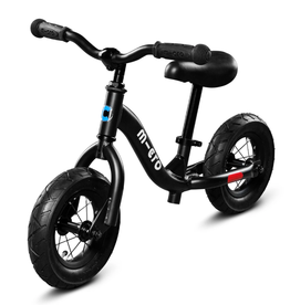 Balance Bike in Black by Micro Kickboard