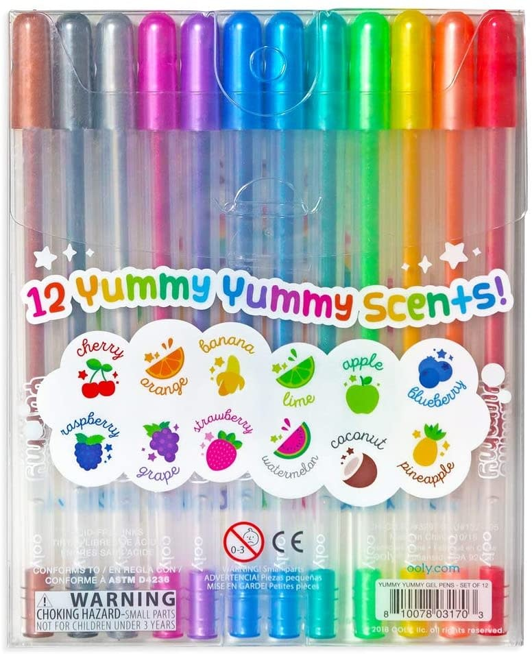 Yummy Yummy Scented Glitter Gel Pens 12-pk by Ooly
