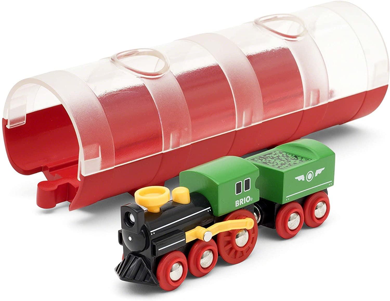 Steam Train & Tunnel by BRIO