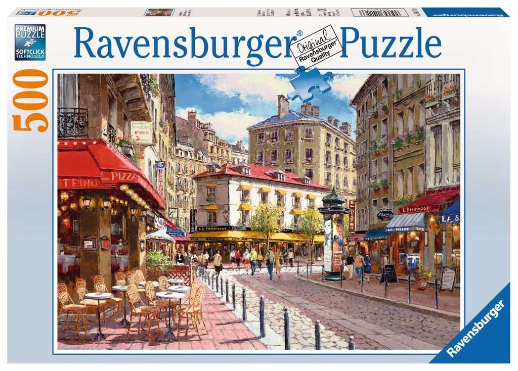 Quaint Shops 500-pc Puzzle by Ravensburger