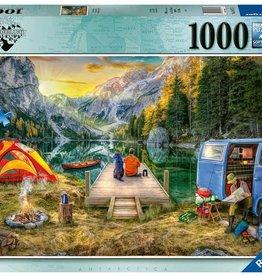 Calm Campsite 1000-pc Puzzle by Ravensburger