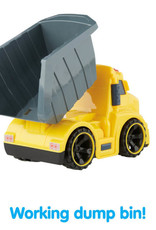 Lights 'N Sounds Dump Truck by Kidoozie